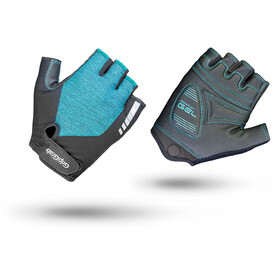GripGrab ProGel Short Cycling Gloves Women Green